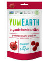 YUMEARTH-POMEGRANATE PUCKER CANDIES YUMMY EARTH CANDY/LOLLIPOP/COUGH DROP