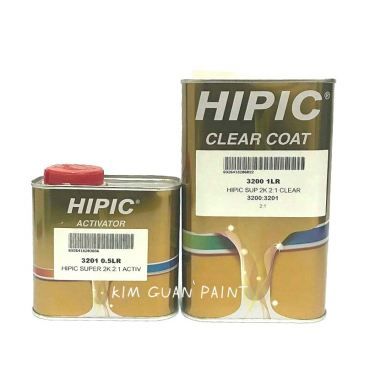 3200 Clearcoat Hipic 2K 2-1 Clear