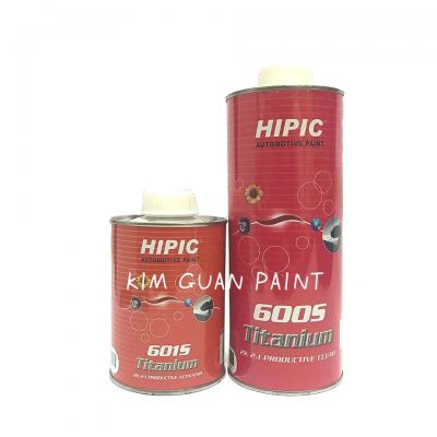600s Clearcoat HIPIC SUPER 2K 4-1 QDS CLEAR