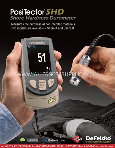 3.7.1 PosiTector SHD Shore Hardness Durometer - Shore A and Shore D