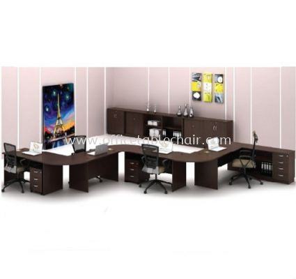 RECTANGULAR TABLE WITH CONNECTION TOP