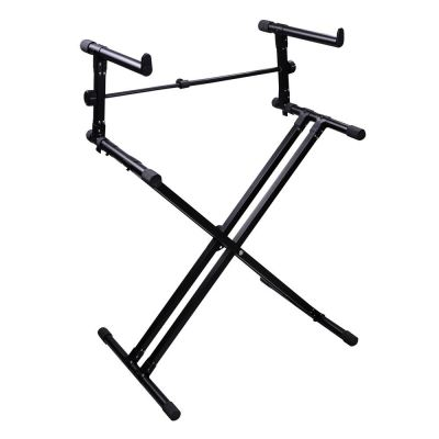Voltech Double Deck X Keyboard Stand