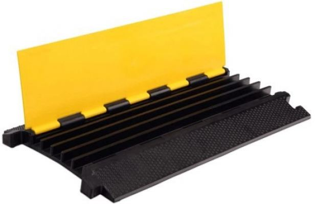 Voltech 5-Channel Rubber Cable Ramp