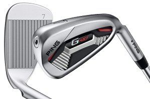 PING G410 Steel 6 Piece Iron Set 5-9,PW AWT 2.0 Lite Shaft