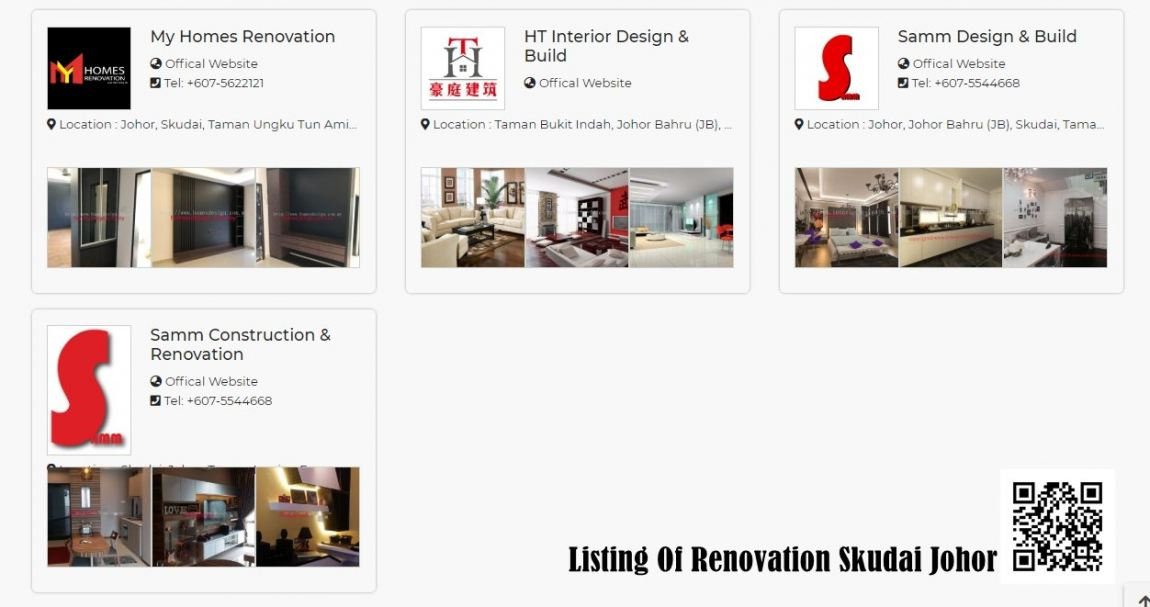 Recommend 4 Renovation Shop In Skudai  Johor Renovation Merchant Lists