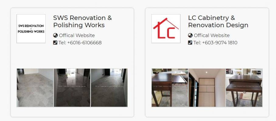 Recommend 4 Renovation Shop In Cheras Kuala Lumpur