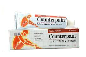 COUNTERPAIN ANALGESIC BALM (Relieves Muscular Aches and Pain) 60g