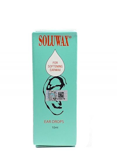 SOLUWAX EAR DROP 10ML