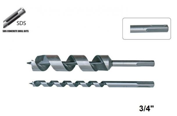 "3/4"" SDS PLUS AUGER BIT - 00732HH"