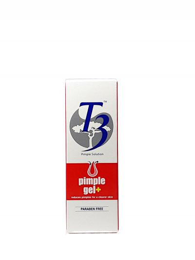 T3 PIMPLE GEL + (10G) -CLEARER SKIN