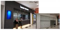money remittance Money Changer Shop Commercial Project