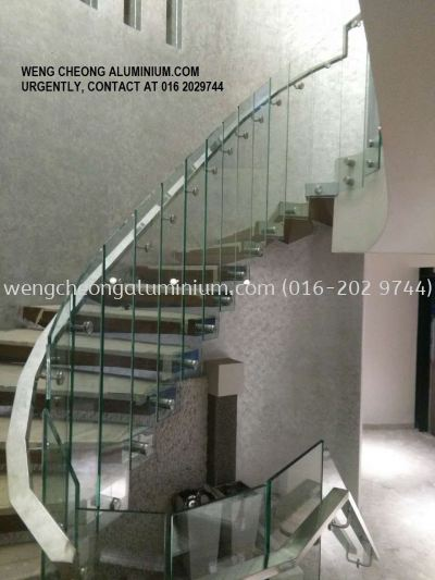 Staircase (Clear Glass)