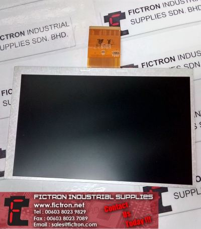 A070VW08 V2 A070VW08V2 AUO LCD Panel Supply Fictron Industrial Supplies