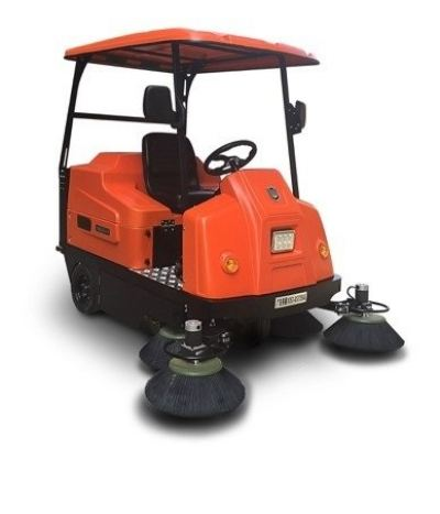 WELDUM 1800 - LARGE ELECTRIC RIDE-ON SWEEPER