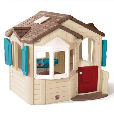 S2-7270 Naturally Playful Welcome Home Playhouse