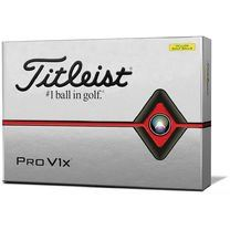 Titleist Pro V1x Yellow Golf Balls Special Play High Numbers 2019