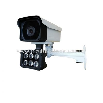 Intelligent Black Light Full Color IP Camera H265+ 1080P