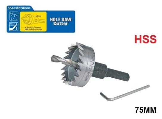 75 MM HSS HOLE SAW - 00712Y