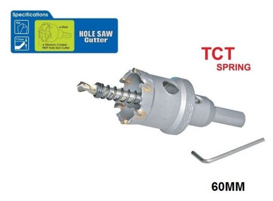 60 MM TCT SPRING HOLE SAW CUTTER - 00713R
