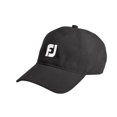 FJ Black Colored DryJoys Baseball Waterproof Cap with UV 50 Protection
