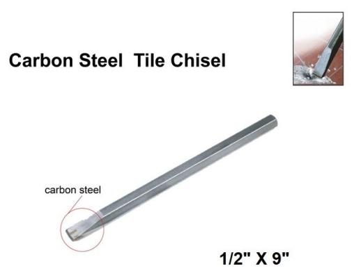 """1/2"""" X 9"""" TILES CHISEL - 00906V"""