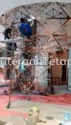 Wall Decoration  Partition Decoration Structure Custom Made (All Kind Of Steel, Stainless Steel, Metal)