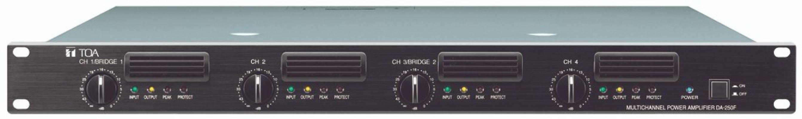DA-250FH.Multichannel Power Amplifier
