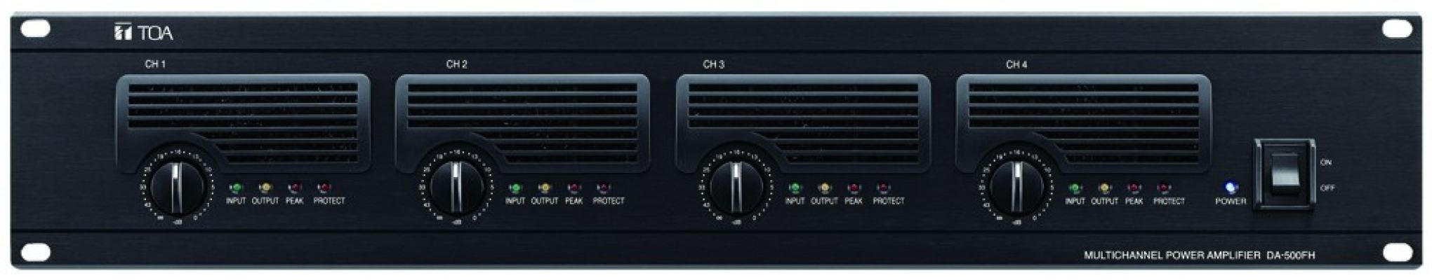 DA-500FH.Multichannel Power Amplifier
