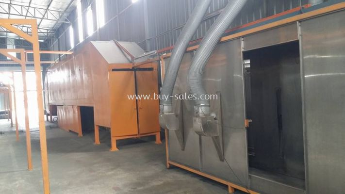 Powder Coating Line Machine