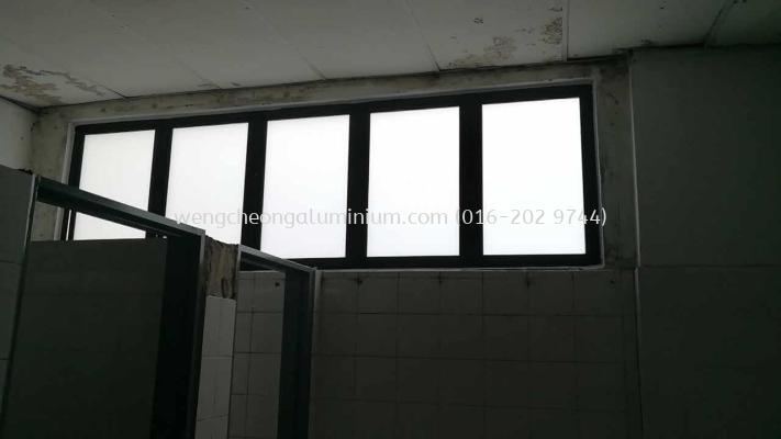 Aluminium Shopfront Fixed Panel
