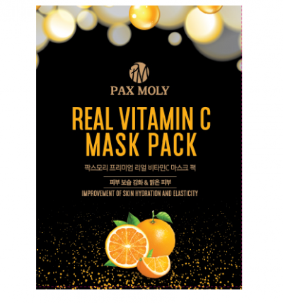 Pax Moly Real Vitamin C Mask Pack 25ml