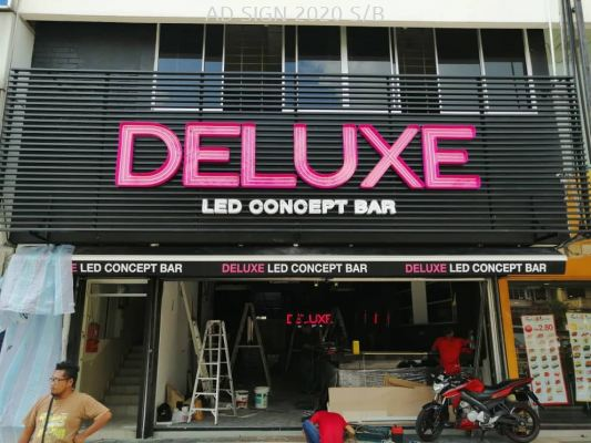 Deluxe led concept bar LED NEON signboard @ SS2,PJ