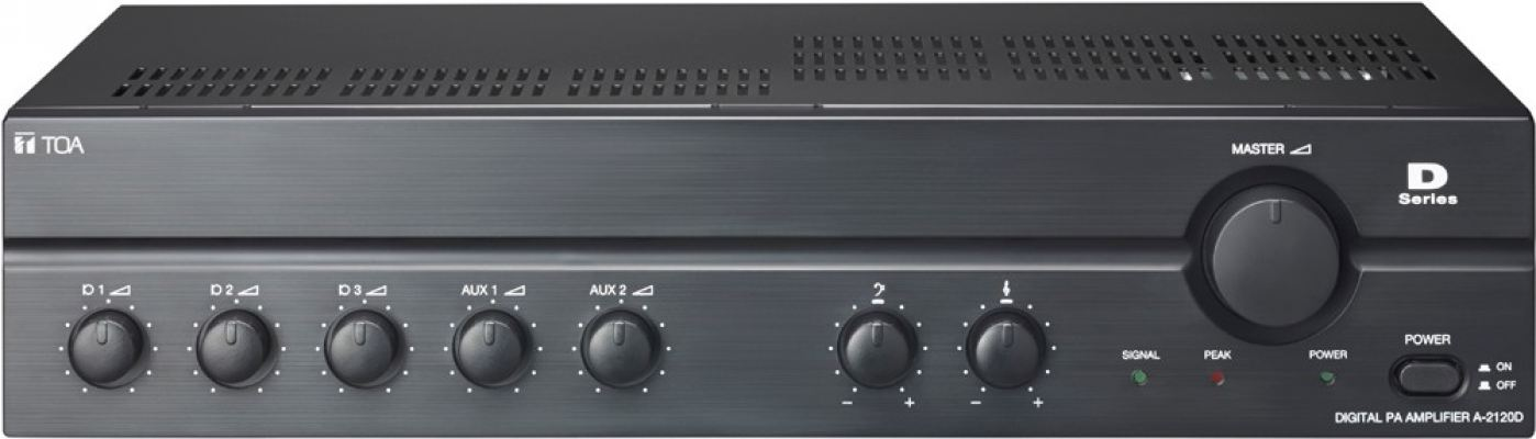 A-2120D.TOA Digital PA Amplifier (CE Version). #AIASIA Connect
