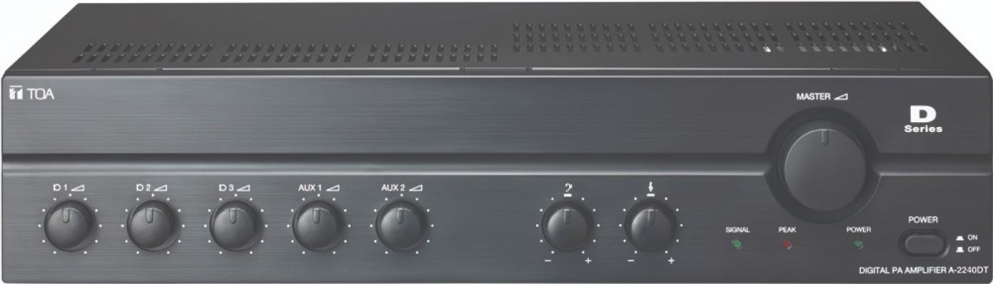 A-2240DT.TOA Digital PA Amplifier (CE Version). #AIASIA Connect
