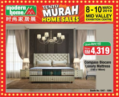 Modern Home Fair (43rd Edition) 8-10 March 2019