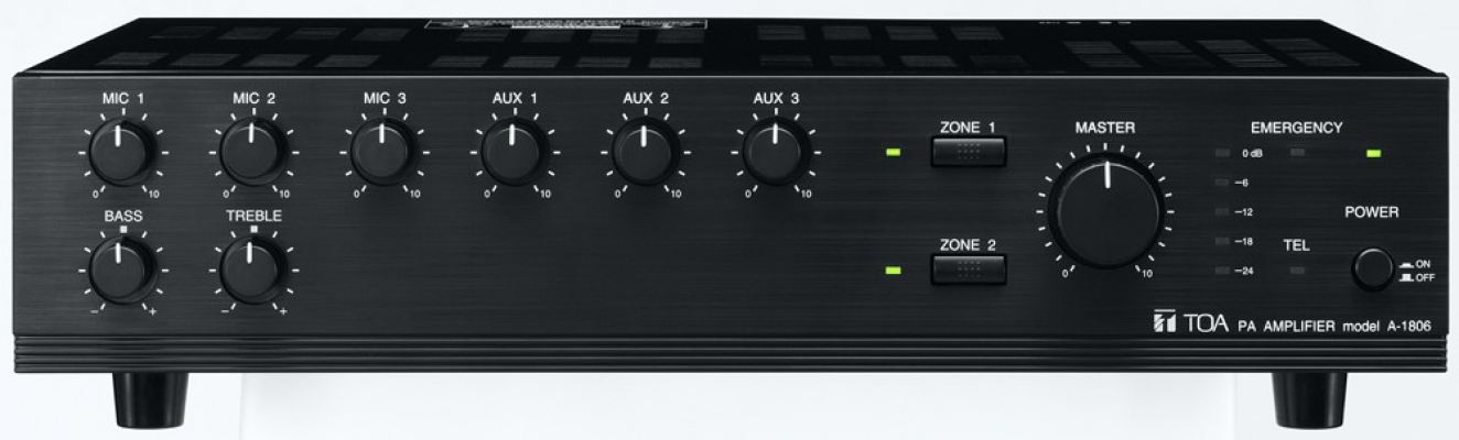 A-1806.TOA Mixer Power Amplifier (ER version). #AIASIA Connect