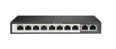 8-Port PoE + 2nos 100Mbps Uplink (Model : IPS-108PR)