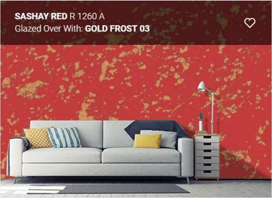 Nippon Momento Gold Frost 03 - Sashay Red (R1260A) - 2 Litre