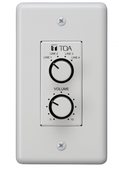 WP-700. TOA Remote Control Panel. #AIASIA Connect