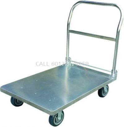 300kg Foldable 304 Stainless Steel Trolley / ESD Trolley