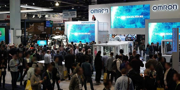 OMRON BRINGS ITS FACTORY HARMONY EXHIBIT, A HIT AT CES, TO ATX WEST