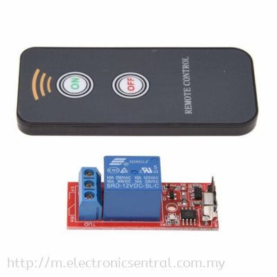 IR Remote Control with Relay 1ch