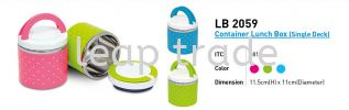 LB 2059 Container Lunch Box (Single Deck) Lunch Box Drinkwares & Containers