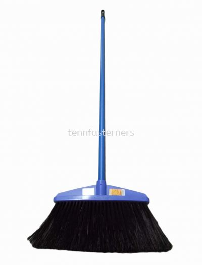 PLASTIC BROOM-M/HANDLE