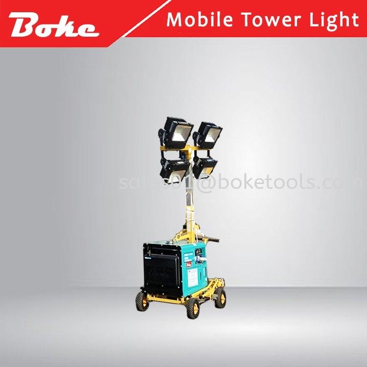 MOBILE LIGHTING TOWER KLE6800T-4100 MOBILE LIGHTING
