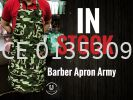 Barber Apron Army  BARBER ACCESSIORIES BARBER AND SALON TOOLS