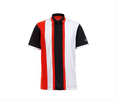 Crest Link Striped Straight Patterned Apparel Mens