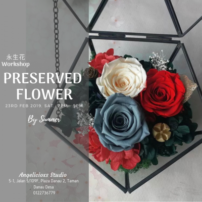 Preserved Fresh Flowers Workshop