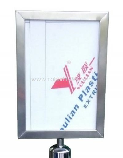 STAINLESS STEEL FRAME FOR SELF RETRACTABLE BELT Q-UP STAND