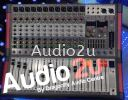 Ampaudio Power Mixer 12 channel PMM-12 Ampaudio Power Mixer Pro Sound PA System